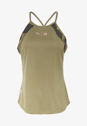 THE FIRST MILE TANK - Sports shirt - burnt olive