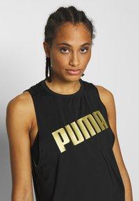 Puma - METAL SPLASH ADJUSTABLE TANK - Koszulka sportowa - puma black - 3