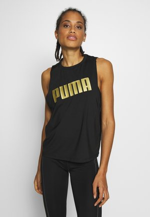 METAL SPLASH ADJUSTABLE TANK - Funkční triko - puma black