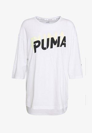 MODERN SPORTS FASHION TEE - Camiseta estampada - white