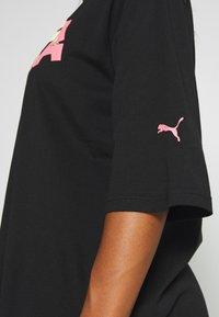 Puma - MODERN SPORTS FASHION TEE - Print T-shirt - black - 5