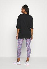 Puma - MODERN SPORTS FASHION TEE - Print T-shirt - black - 2