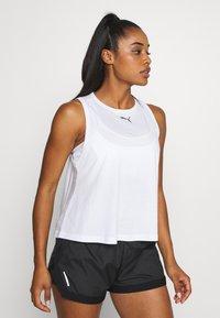 Puma - MODERN SPORTS TANK - Sports shirt - white - 0
