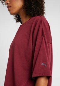 Puma - TEE  - T-shirts med print - cordovan - 3