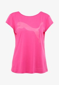 Puma - SOFT SPORTS TEE - T-shirts med print - fuchsia purple - 3