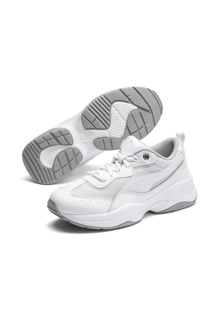 Puma CILIA PATENT Sneaker low white silver gray violet