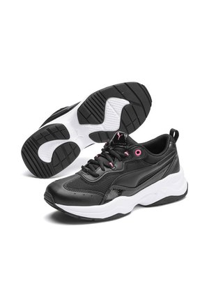 CILIA PATENT - Trainers - black-pink glimmer-white