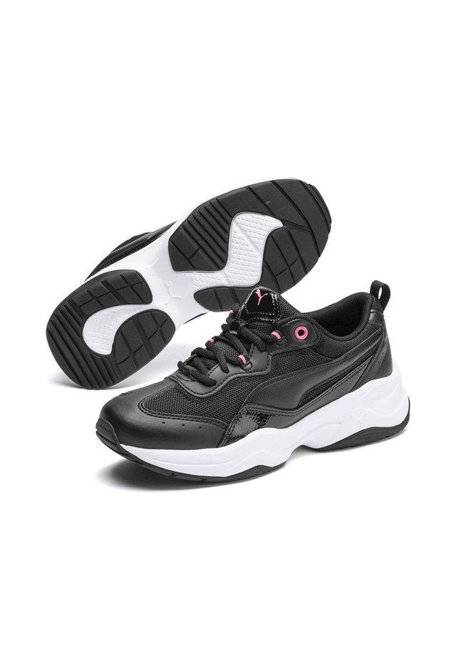 CILIA PATENT - Sneakers - black-pink glimmer-white