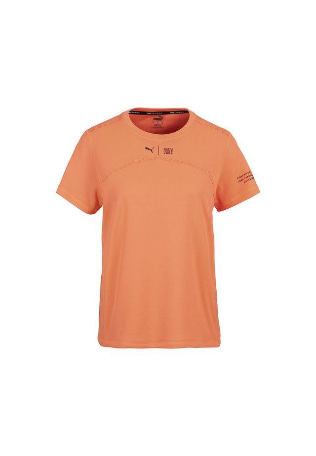 FIRST MILE - Print T-shirt - fizzy orange