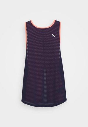 NEO FUTURE TANK - Koszulka sportowa - peacoat/ignite pink