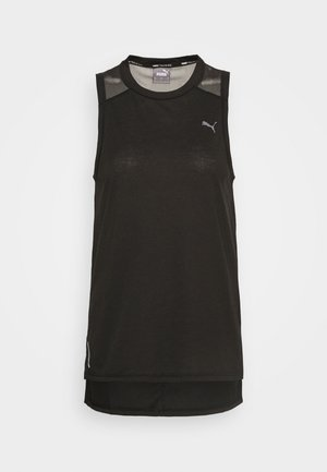 TRAIN PANEL TANK - Sports shirt - black