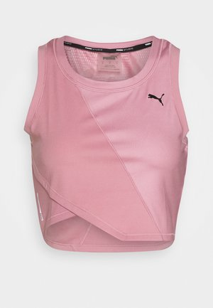 STUDIO CROP TANK - Sports shirt - foxglove
