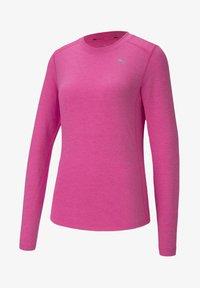 luminous pink heather