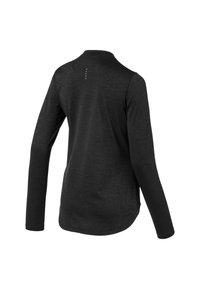 Puma - TEE KVINDE - Sports shirt - black heather - 4