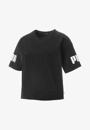 KVINDE - Print T-shirt - black