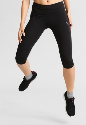 CORE - 3/4 sports trousers - black