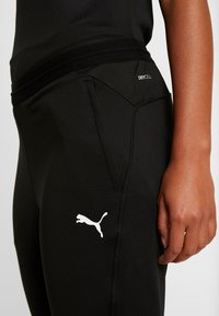 Puma - LIGA TRAINING PANTS  - Pantaloni sportivi - black/white - 3