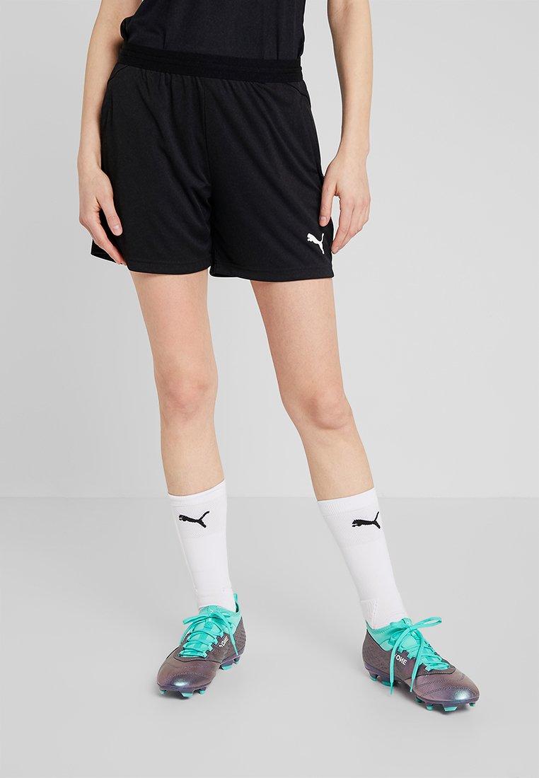 Puma - LIGA TRAINING SHORTS  - Pantalón corto de deporte - black/white