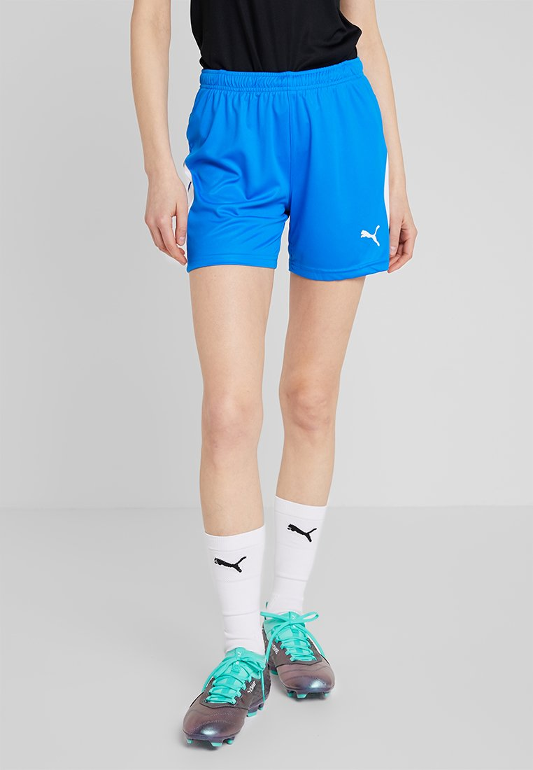 Puma - LIGA SHORTS - Träningsshorts - electric blue lemonade/white