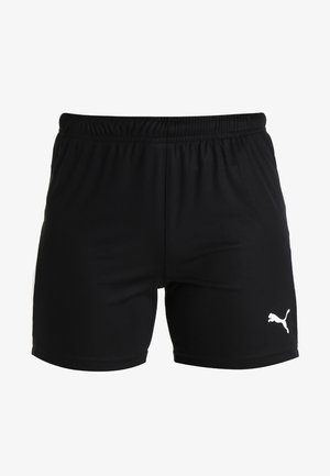 LIGA SHORTS - Sports shorts - black/white