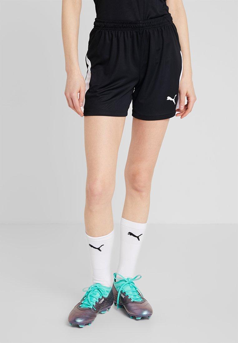 Puma - LIGA SHORTS - Sports shorts - black/white
