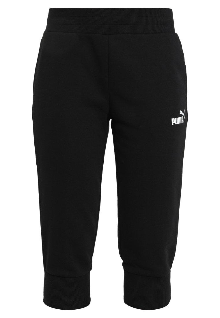 ESS CAPRI PANTS - 3/4 sportbroek - cotton black