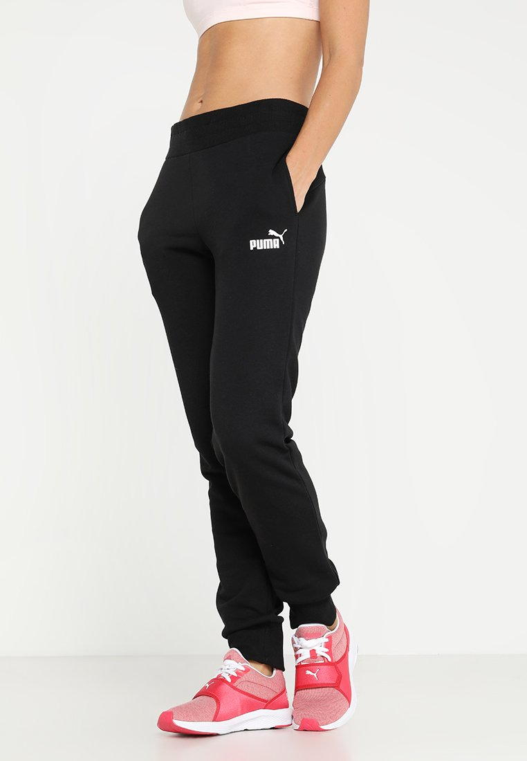 Puma - ESS PANTS - Trainingsbroek - cotton black
