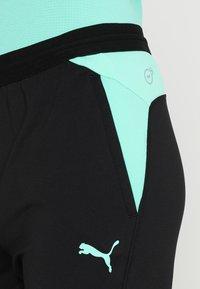 Puma - TRAINING PANT - Pantaloni sportivi - biscay green/black - 5