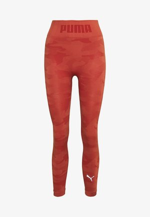 EVOKNIT SEAMLESS LEGGINGS - Trikoot - autumn glaze