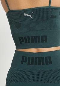 Puma - EVOKNIT SEAMLESS LEGGINGS - Legging - ponderosa pine - 3