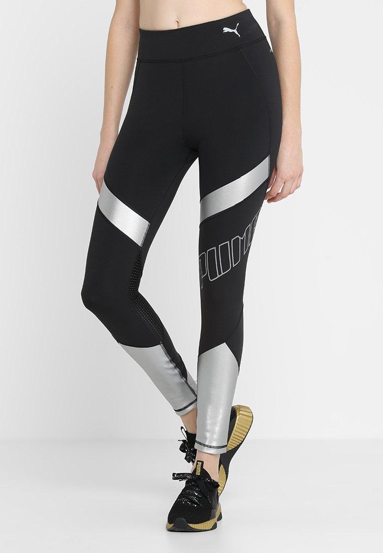 Puma - ELITE SPEED - Legging - black/silver