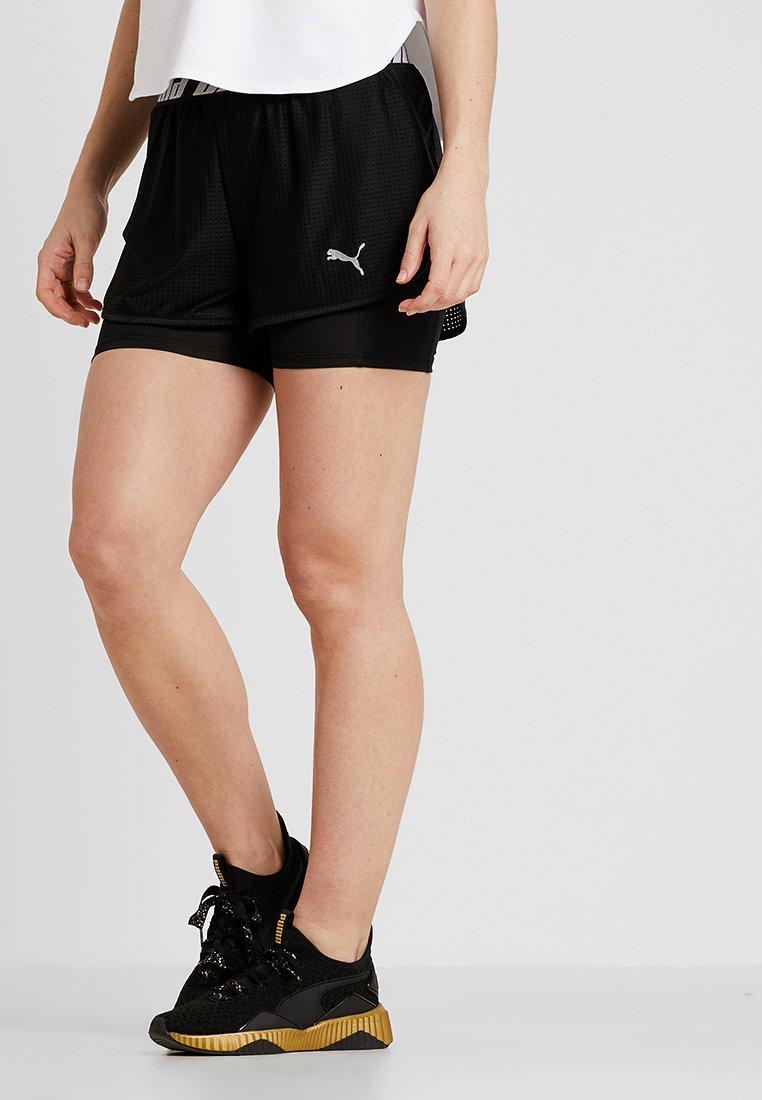 Puma - BLAST SHORT - Pantalón corto de deporte - black