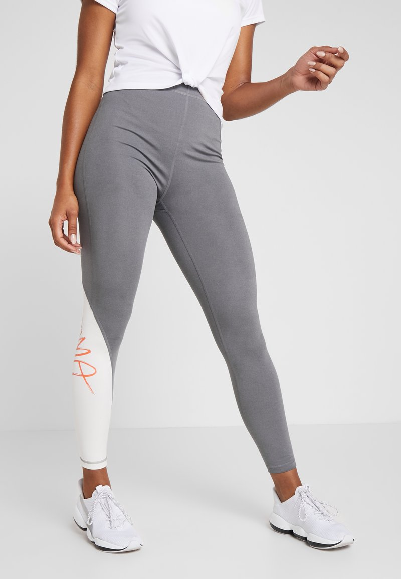 Puma - SWEET - Leggings - medium gray heather/whisper white