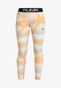 Puma - LEGGINGS - Tights - orange - 4