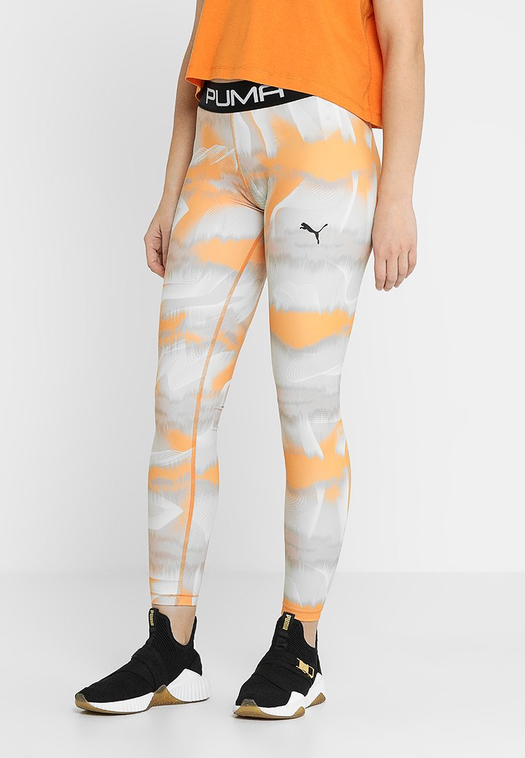 Puma - LEGGINGS - Tights - orange
