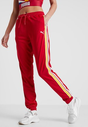 TRACK PANTS - Pantaloni sportivi - lipstick red