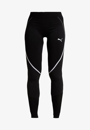 SEAMLESS LEGGINGS - Punčochy - black