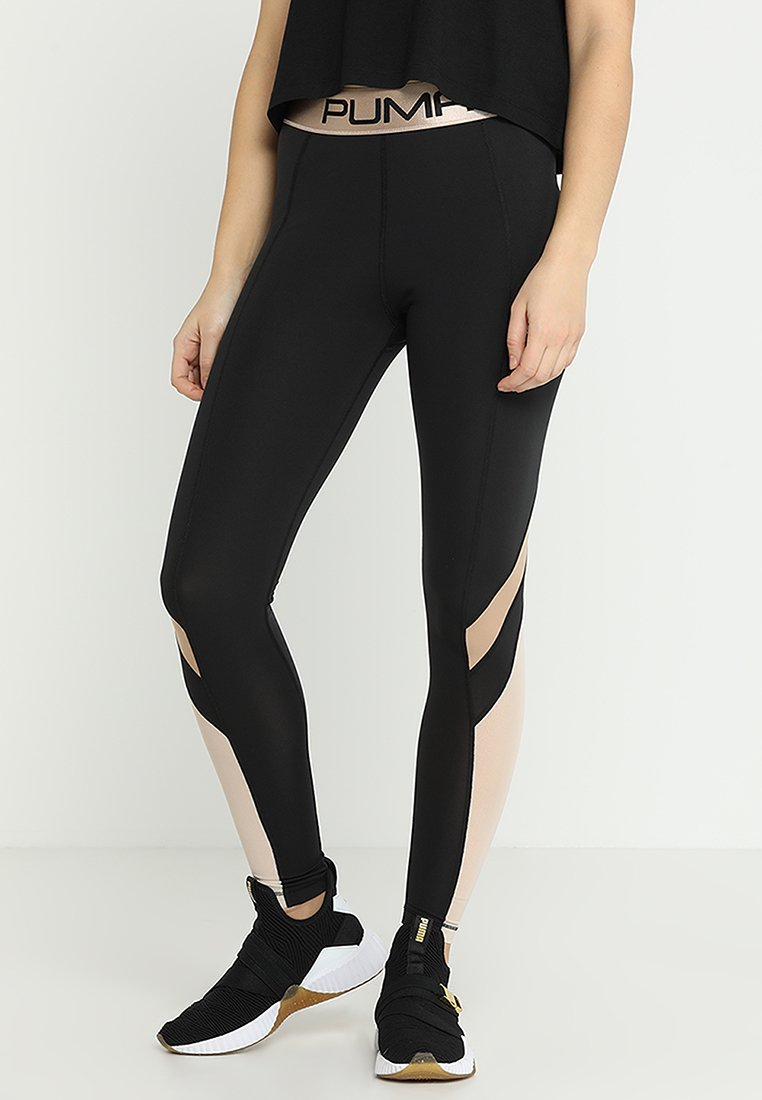 Puma - LEGGINGS - Collants - black