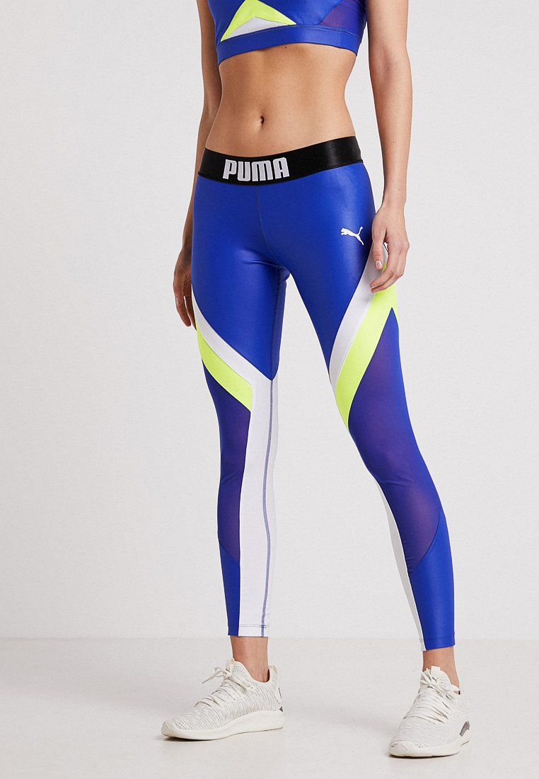 Puma - COLORBLOCK  - Tights - clematis blue