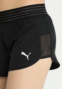 Puma - SHORTS - kurze Sporthose - black - 4