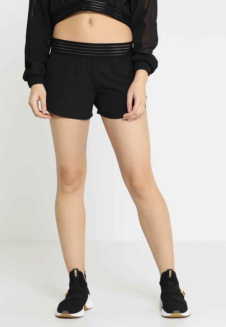Puma - SHORTS - Pantalón corto de deporte - black