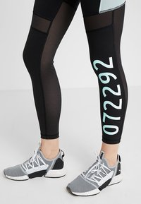 Puma - Legging - black/fair aqua