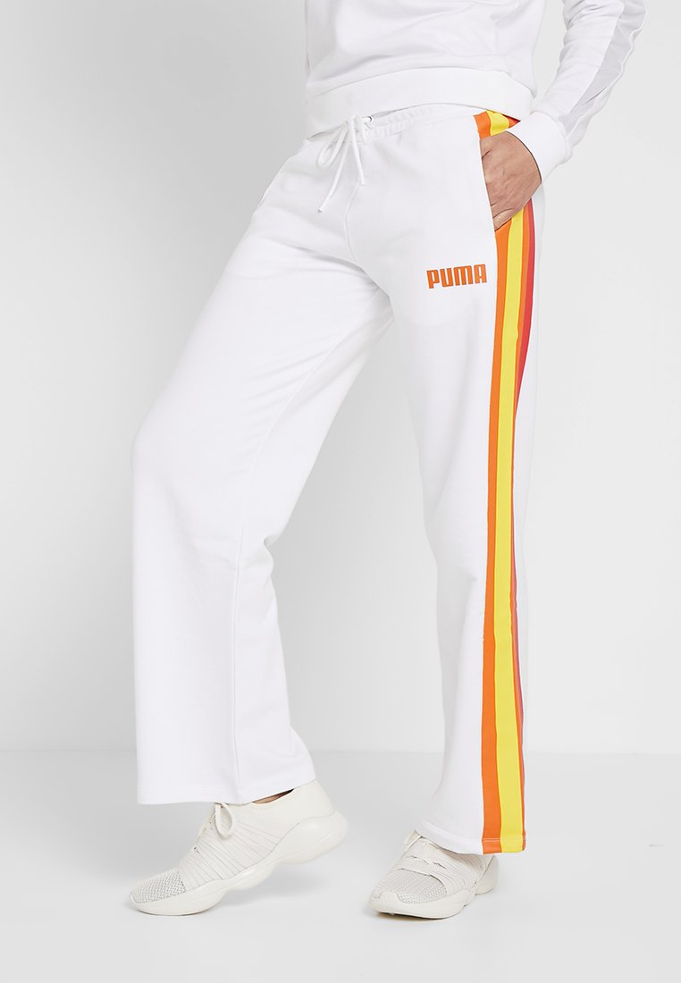 Puma - PERFORMANCE PANTS - Tracksuit bottoms - white