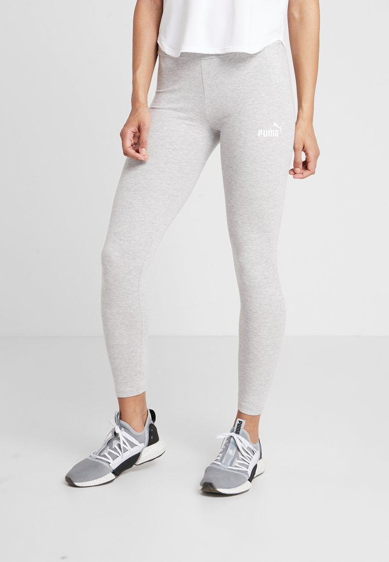 Puma - AMPLIFIED LEGGINGS - Medias - light gray heather