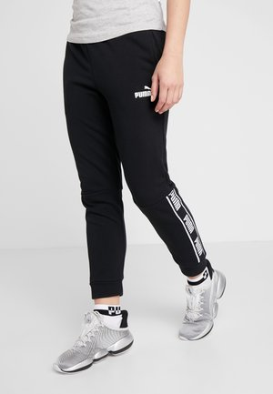 AMPLIFIED PANTS - Pantaloni sportivi - puma black