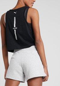 Puma - SHORTS - Sports shorts - light gray heather - 3