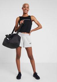 Puma - SHORTS - Sports shorts - light gray heather - 1