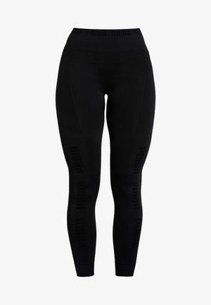EVOKNIT SEAMLESS LEGGINGS - Collants - black