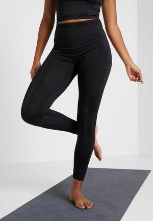 EVOKNIT SEAMLESS LEGGINGS - Collant - black