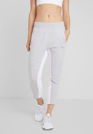 EVOSTRIPE PANTS - Joggebukse - light gray heather